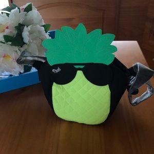 VS PINK pineapple color bag